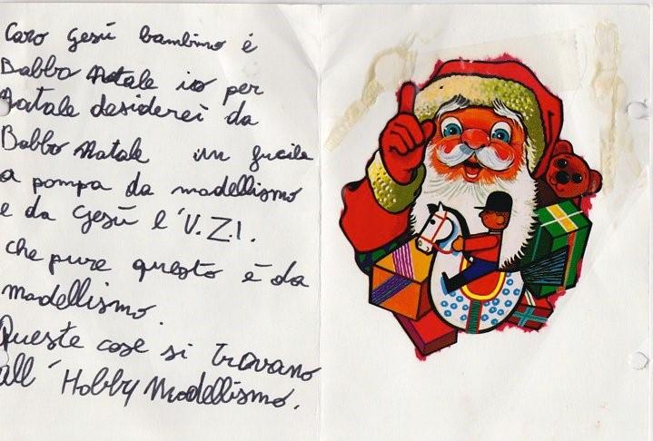 Lettera A Babbo Natale Divertente.Lettera A Babbo Natale E Gesu Bambino