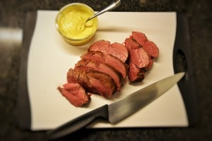 salsa béarnaise con chateaubriand