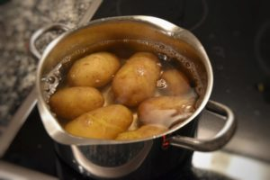 patate farinose bollite