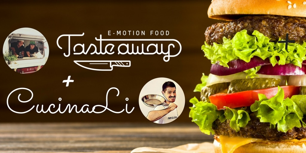 CucinaLi on the road con TASTE Away E-motion Food