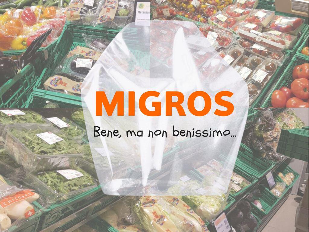 Migros e gli imballaggi di plastica: un'iniziativa buona, ma solo a metà…