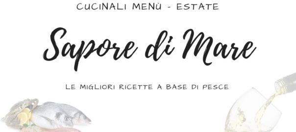 Menu - Estate - Pesce