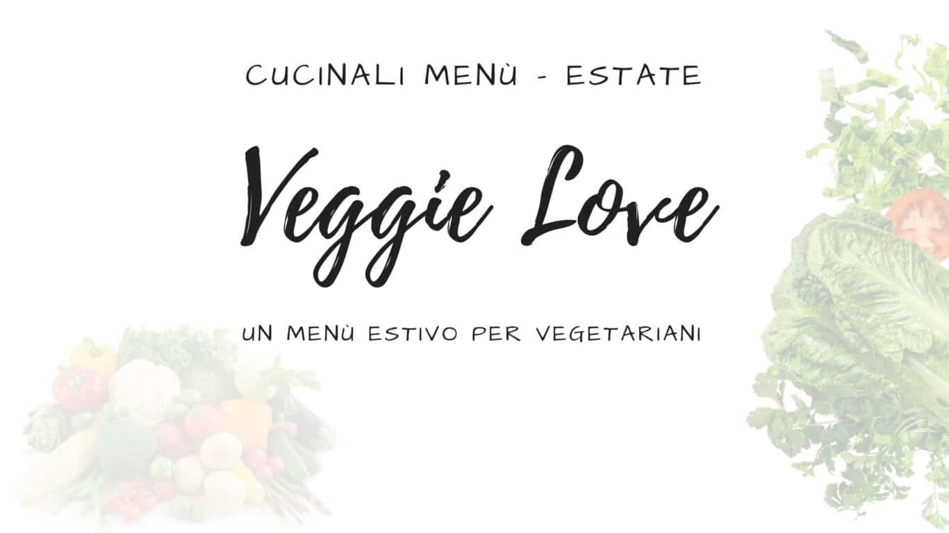 Menu - Estate - Veggie
