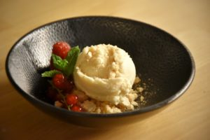 gelato alle meringhe della gruyère