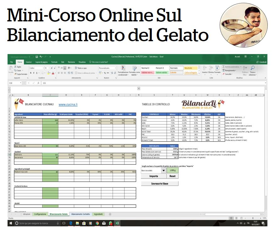 Mini Corso Online Gratuito sul Bilanciamento del Gelato