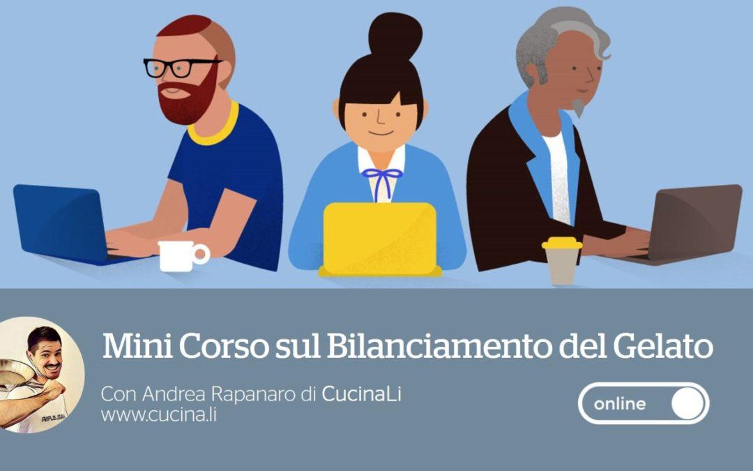 Mini Corso Online sul Bilanciamento del Gelato