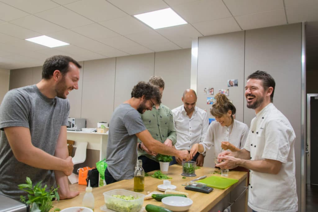 Team Building & Chef at Home di CucinaLi presso Ander Group