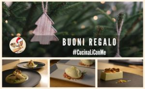 Regala un corso di cucina – Buoni regalo #CucinaLiConMe