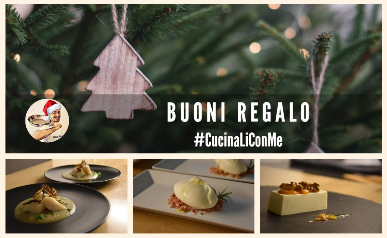 Regala un corso di cucina - Buoni regalo #CucinaLiConMe
