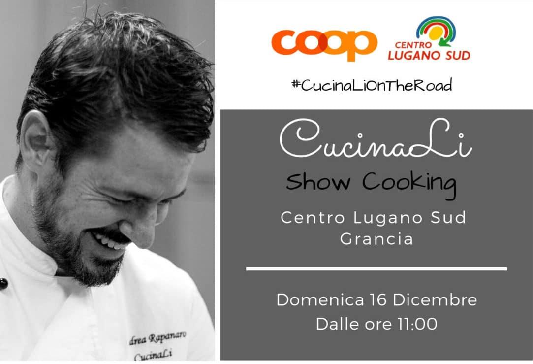 Show Cooking alla Coop del Centro Lugano Sud