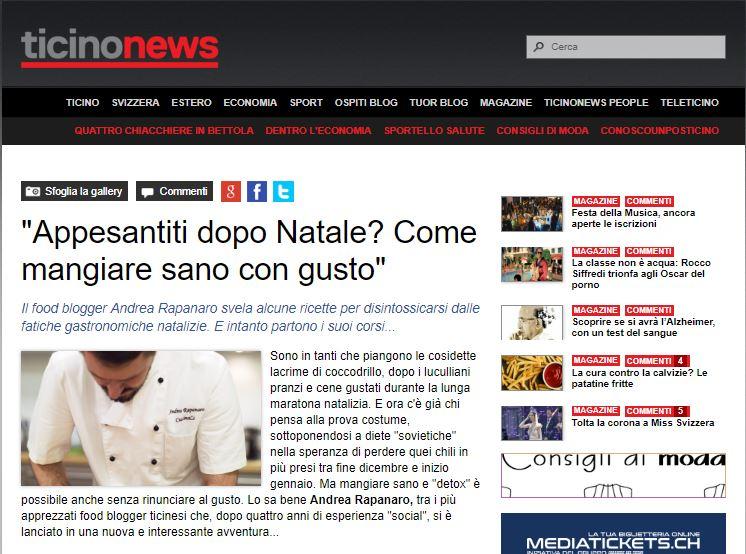 Intervista per ticinonews.ch