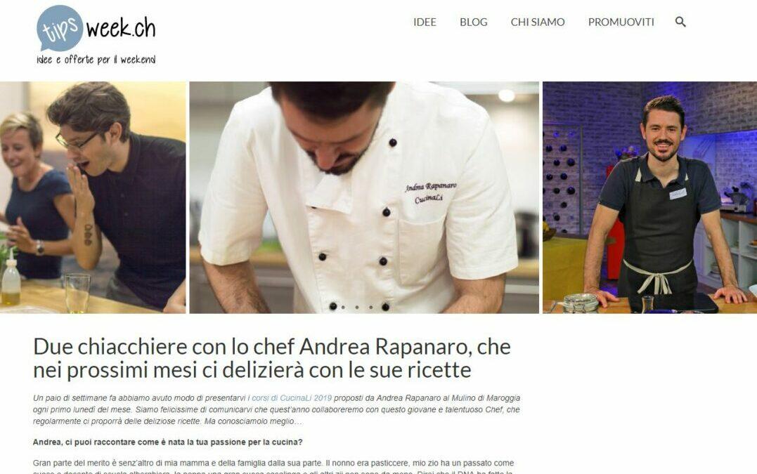Collaborazione CucinaLi & Tipsweek.ch