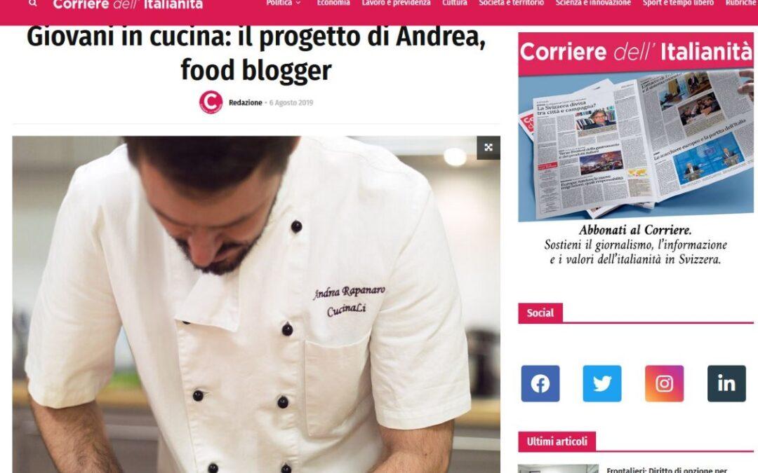 Intervista per il corriere dell'italianità