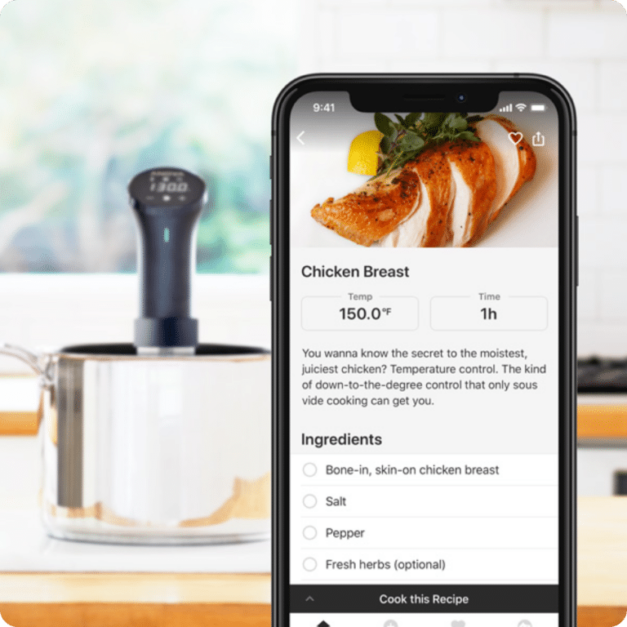 anova cooker app