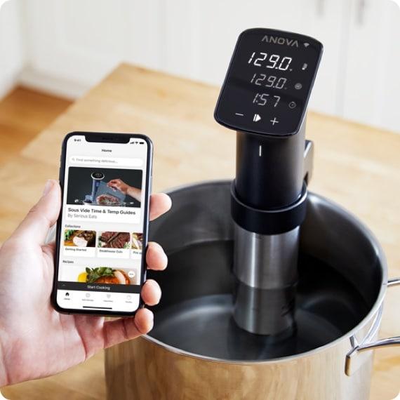 anova cooker pro app