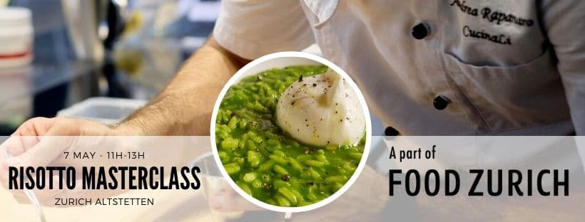 Risotto Masterclass & Zero Food Waste Cooking Class from CucinaLi at Food Zurich