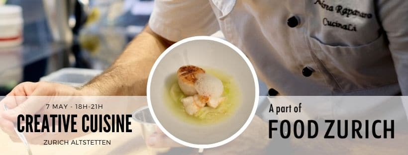 Creative Modern Cusine Cooking Class from CucinaLi at Food Zurich