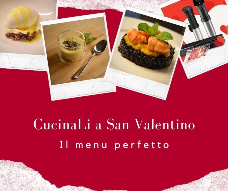 Il regalo di San Valentino: il tuo menù speciale