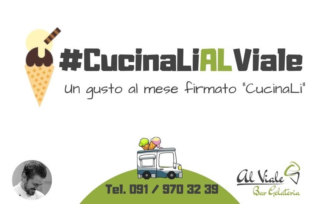 #CucinaLiAlViale: il gelato di CucinaLi a casa tua!