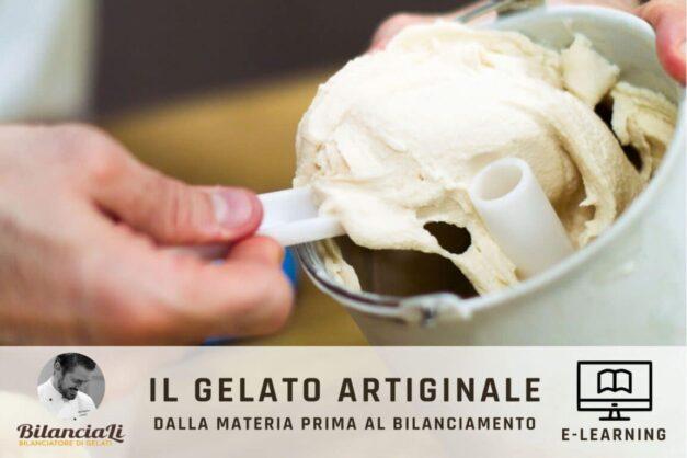 corso online sul gelato artiginale di CucinaLi - e-learning