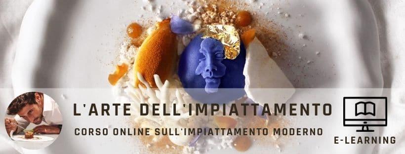 l'arte dell'impiattamento, corso online sull'impiattamento con Andrea Mattasoglio
