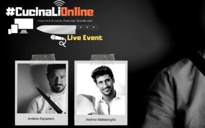 Evento live CucinaLi & Andrea Mattasoglio