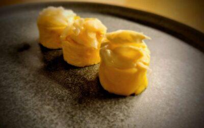 Maki primaverile omelette & asparagi di Cantello